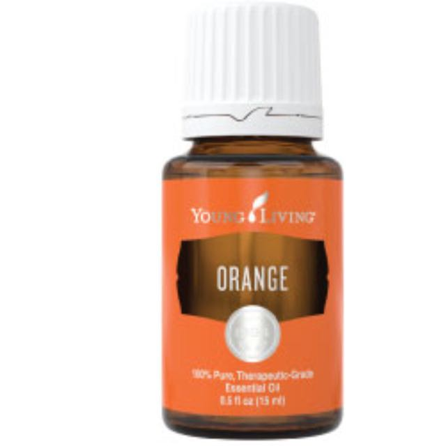 Orange Young Living Oil