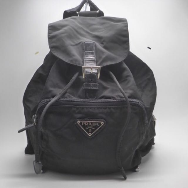 separation shoes 42d24 221ce Prada 中古防水布 背囊 背包 Backpack