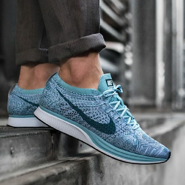 398d4fabccc PREORDER  Nike Flyknit Racer Macaron Pack - Blueberry