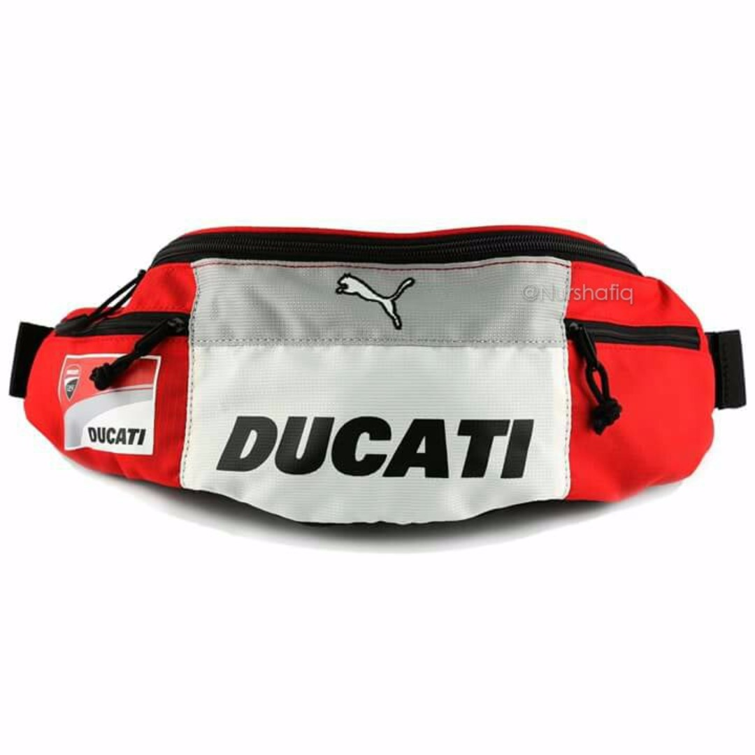 01c9d3c945b3 PUMA DUCATI POUCH   WAIST BAG (RED  WHITE COLOUR)