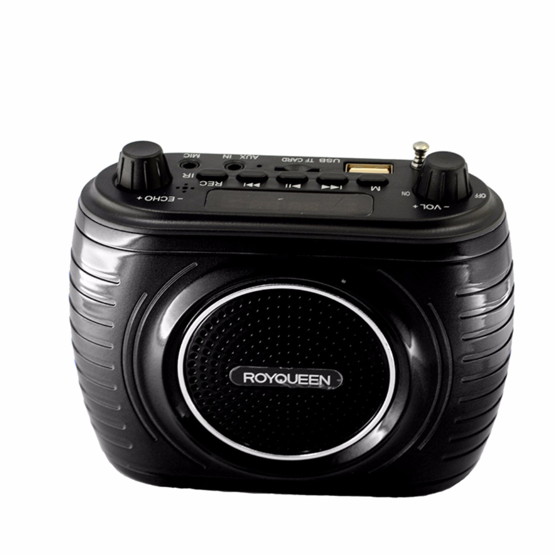 Royqueen Rq 14 Voice Amplifier With Lapel Mic Electronics Others Speech Box On Carousell