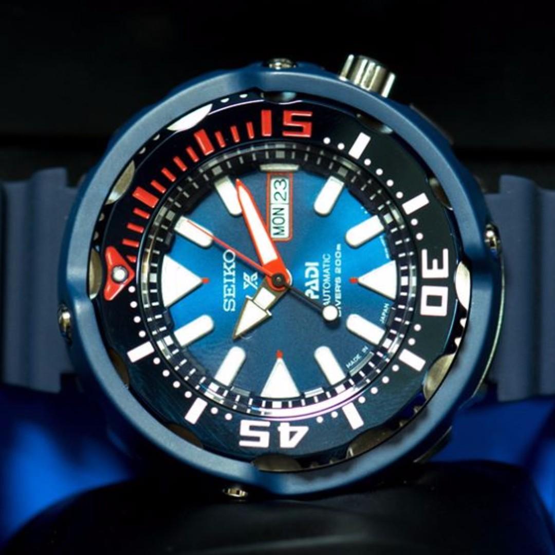 Seiko Prospex Padi Limited Edition Baby Tuna Automatic 200m Divers