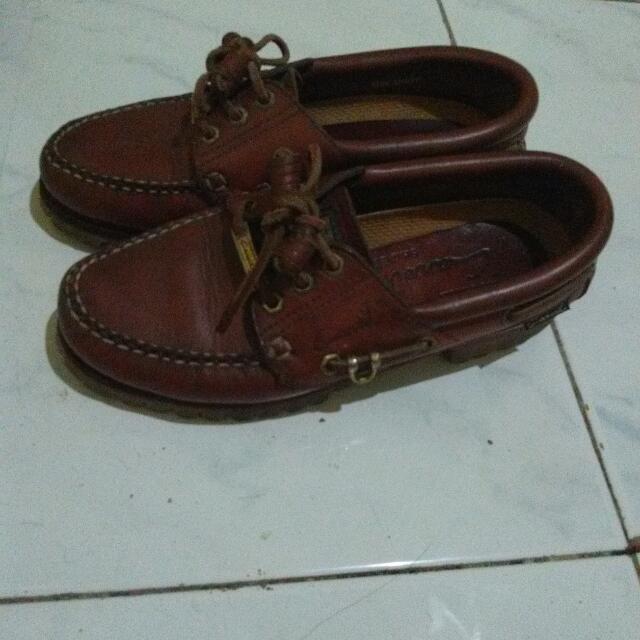 Sepatu Kulit Carvil Flex Stitch Size M No Minus No Box