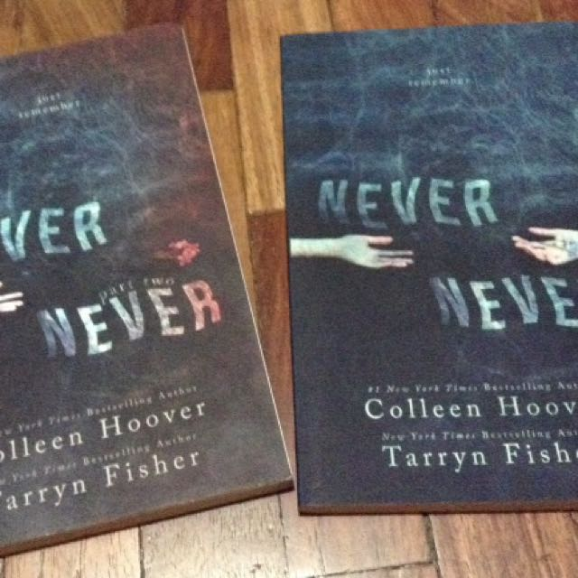 SIGNED Never Never Part 1 and 2