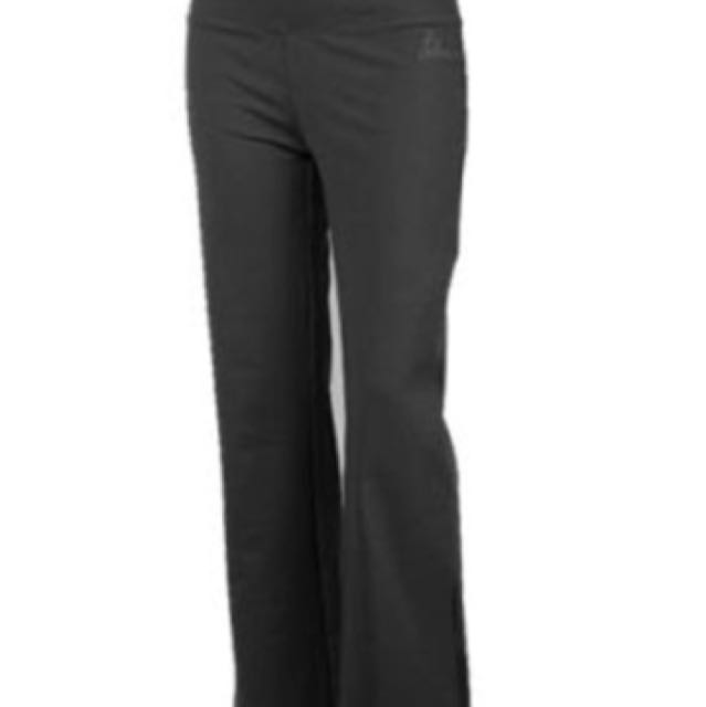 Size 8 Black Leluu Dance/yoga Pants