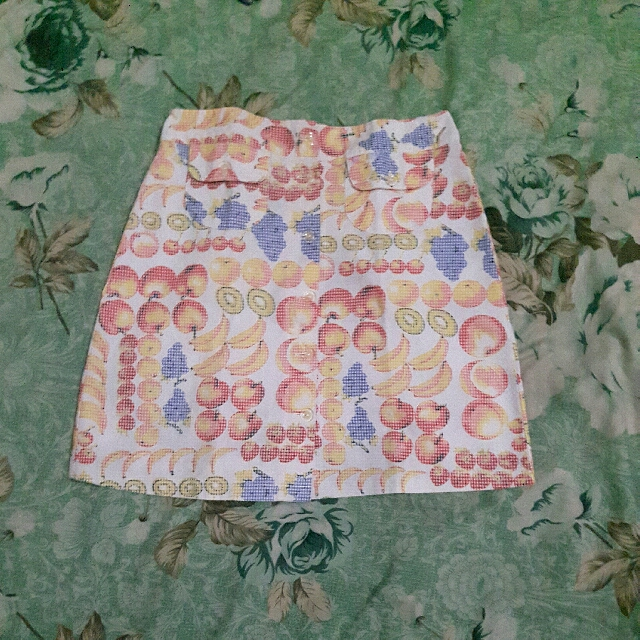 Skirt Motif Fruit's