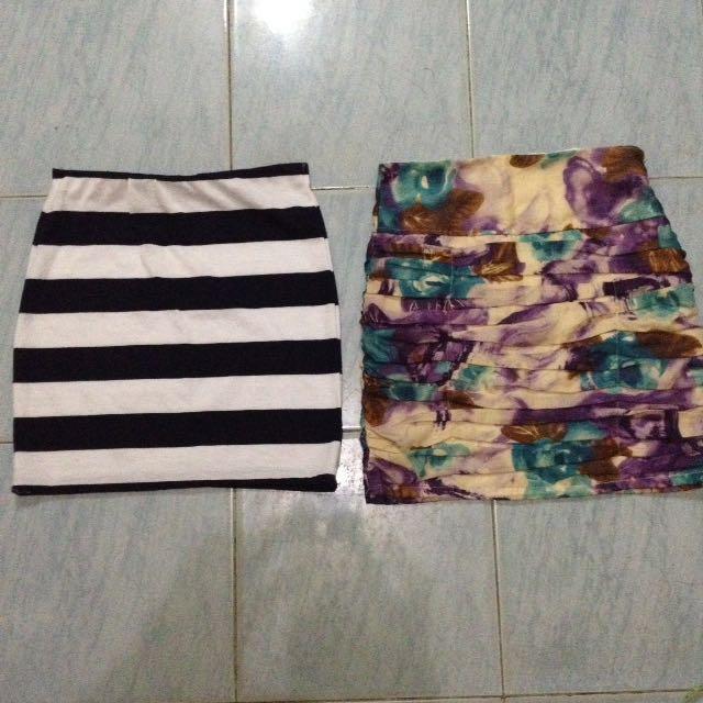 Skirts Bundle! Get Both For 200