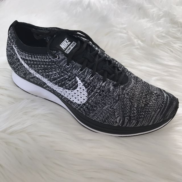 SOLD OUT AUS WIDE. Men's Nike Flyknit Racers - Oreo