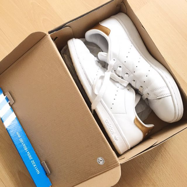 Stan Smith - White and Gold Rust
