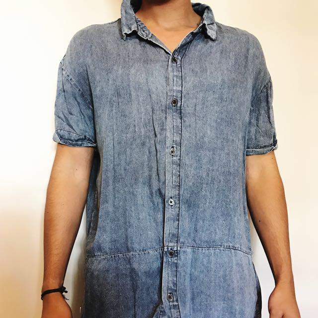 Stussy button-up shirt
