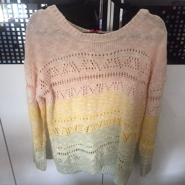 sweater rajut (gowigasa)