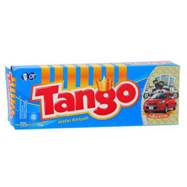 Tango Wafer Susu Vanilla Food Drinks Packaged Snacks On