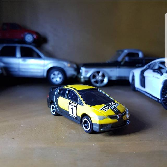 Tomica Civic Fd2 type R Gift Set