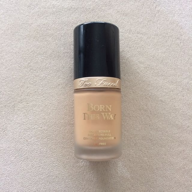 TOO FACED Born This Way Foundation In Natural Beige
