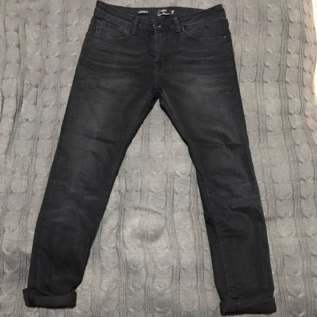 Topman Black Skinny Jeans