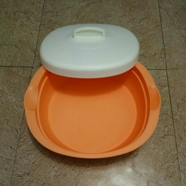 Tupperware Oval Bowl Serve