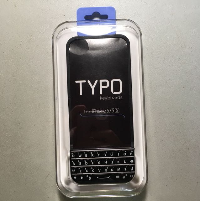 timeless design 22e7e 9e556 Typo Keyboard Case for iPhone 5/5S/SE
