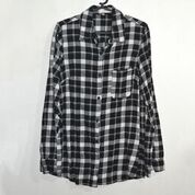 Unbranded Black and White Plaid