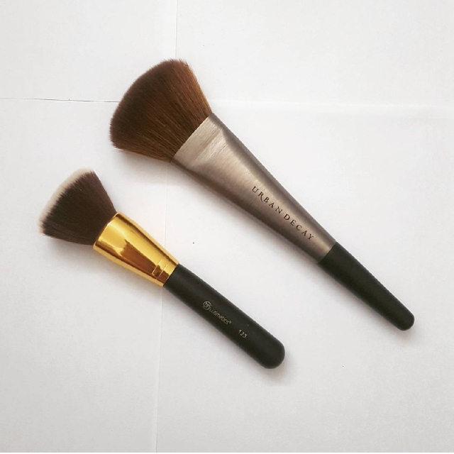 Urban Decay & BH Comestics Brushes