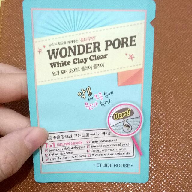 Wonder pore White Clay Clear