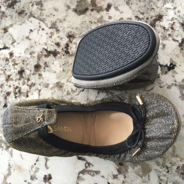 Yosi Samra Sandrine Ballet Slippers