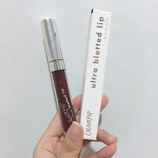 Colourpop Ultra Blotted Lips