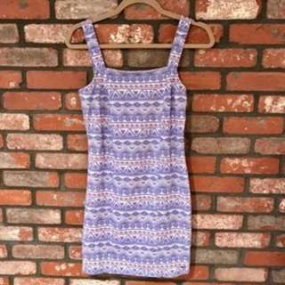 Hollister Tribal Dress