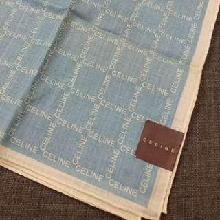 [全新] Celine 方巾 Mini Scarf/Pocket Square/ Handbag Handkerchief