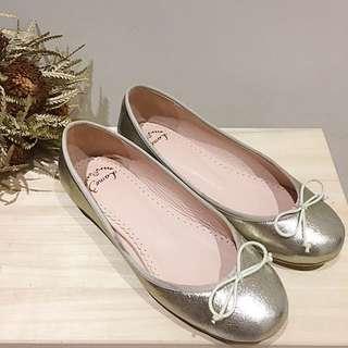 Lamo.3 真皮芭蕾舞鞋 娃娃鞋