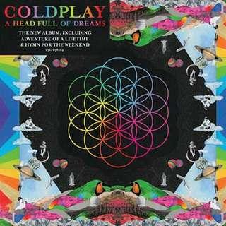 Coldplay Head Full Of Dreams CD