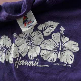 Vintage 1983 Hawaii souvenir ladies top