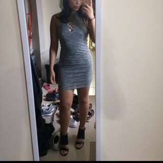 Grey Cross Dress