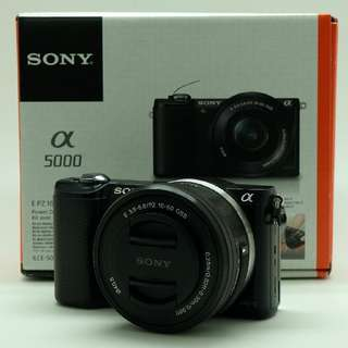 Sony A5000 MIRRORLESS Kit 16-50mm