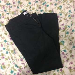 Calvin Klein Black Formal Tight Pants