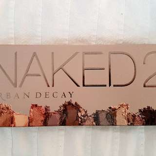 Urban Decay Naked Palette And Powder