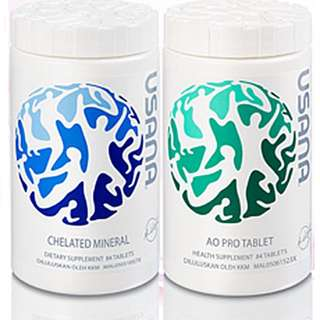 USANA ESSENTIALS AO PRO+CHELATED MINERAL 168's