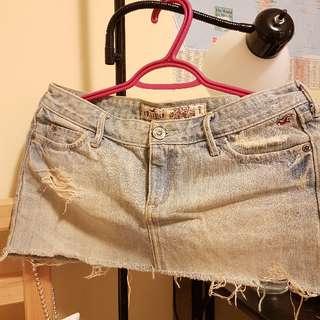 Hollister Demin Skirt