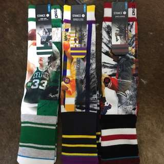 Real stance socks (old school stars )