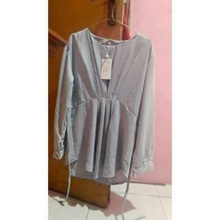 Blouse Grey dr MAYOUTFIT