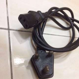 Power Cord 3 Pin