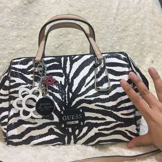 Guess Zebra print Bag