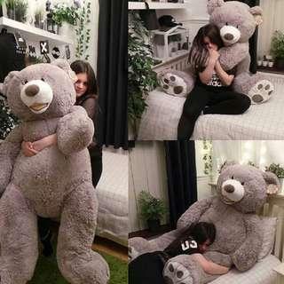"""93"""" Plush Giant Teddy Bear"""