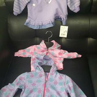 baby baju 0to 6 month all of new brand