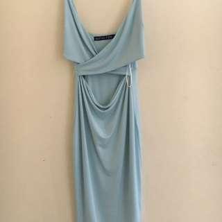 Baby Blue Dollhouse Dress