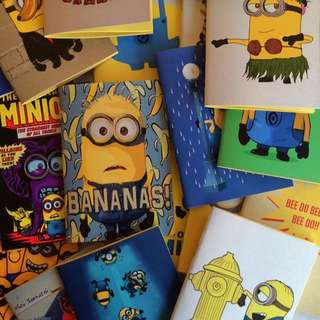 Minion Mini Notebook