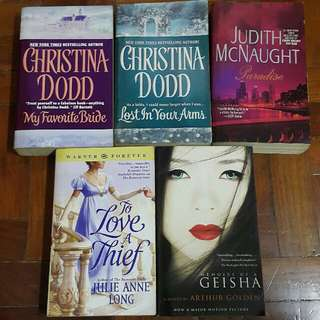 Historical/Contemporary Romance Novels