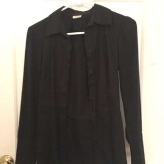Black Dress Shirt Size S