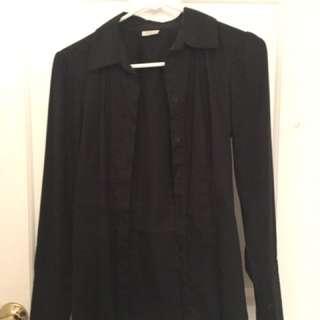 Black Dress Shirt Size S