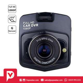 2.4 Inch LCD HD 1080P Vehicle Blackbox DVR Car Recorder - Black