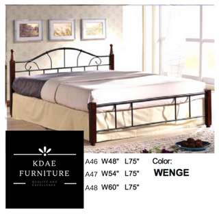 Bed Frame Queen Size (54x75)
